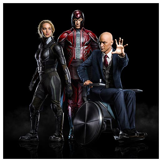Неформатный постер X-Men / Люди Икс
